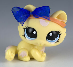 Lps Cat Blue Eyes Yellow