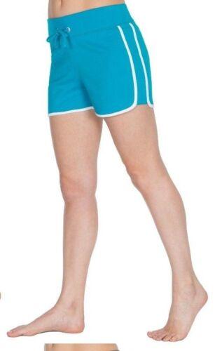 Femmes Filles Été Coton Vacances Plage Shorty Gym Entraînement Short Taille 10-24