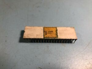 Intel C8080A White Ceramic Microprocessor / CPU - Rare tested working 8080