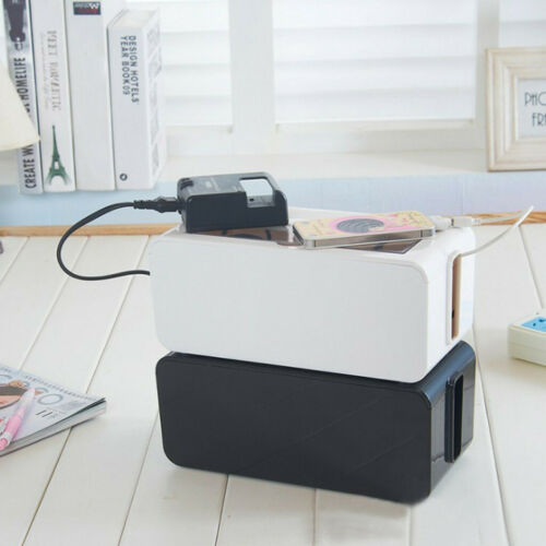 Household Power Cord Cable Charger Socket Storage Box Arrange Messy Wires Box