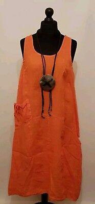 "46/"" New LaGeNLooK QUIRKY BOHO,parachute ASYMMETRIC Stripe jersey pocket DRESS"