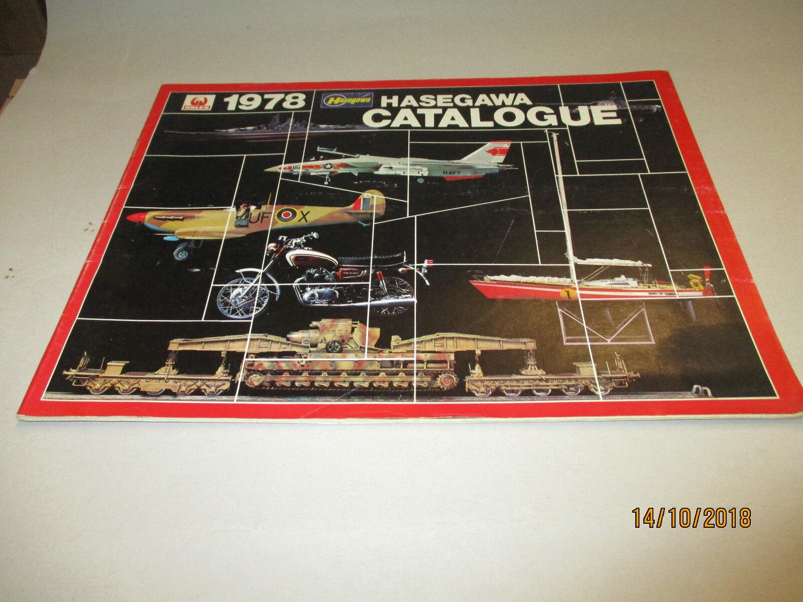 Hasegawa MODELLO KIT: catalogo 1978