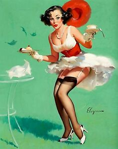 Vintage Pin Up Girls Retro Burlesque Prints /& Posters A1,A2,A3,A4 Sizes