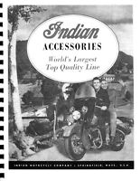 Indian Motorcycle Accessories Catalog 1948 Reprnt