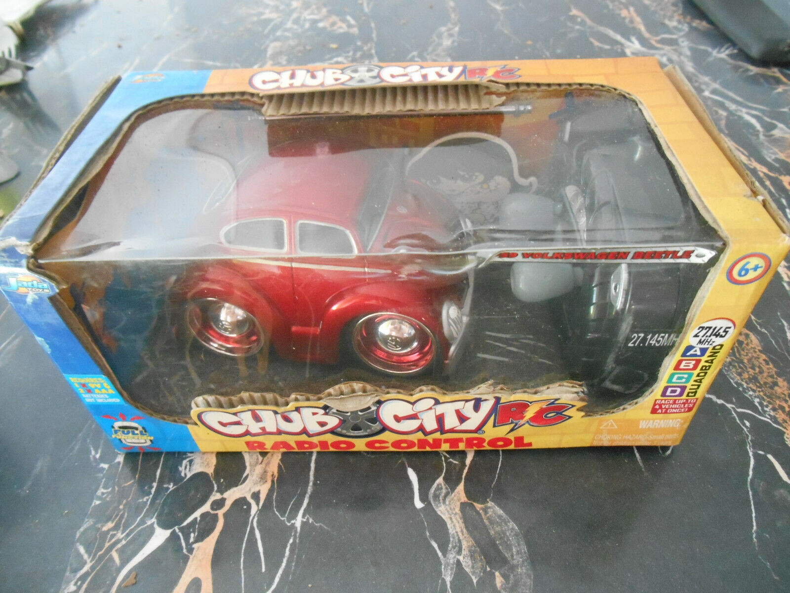 Jada Jada Jada giocattoli Chub città RC Volkswagen Beetle coccinelle telecomuomodé dd64be