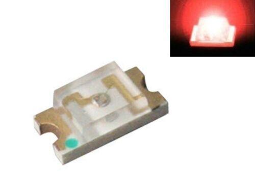 S919-100 Stück SMD LED 1206 rot LEDs red