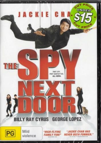 1 of 1 - THE SPY NEXT DOOR - JACKIE CHAN - NEW & SEALED REGION 4 DVD - FREE LOCAL POST