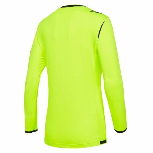 Macron Football Soccer UEFA Referee 19 Women Ladies Long Sleeve Shirt Jersey Top