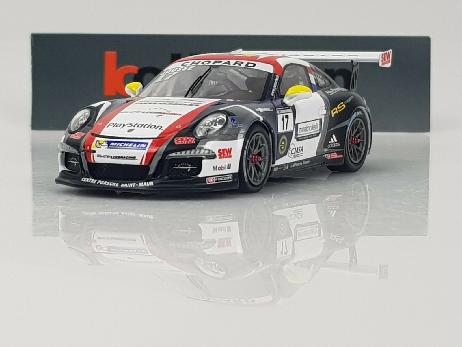 SPARK SF090 Porsche GT3 Cup n 17 Champion PCCF 2015 M. Jousse 300ex 1.43 NB