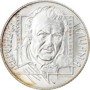 [#831740] Italie, 5 Euro, Federico Fellini, 2005, Rome, FDC, Argent, KM:255
