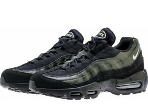 NWT Nike Air Max 95 Essential Running Shoes Black Green