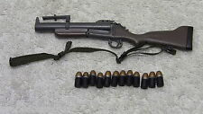 U.S. Navy Seal M60 Gunner Grenade Launcher + 12 grenades - Hot Toys Military