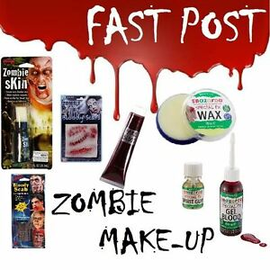 SNAZAROO BLOOD WAX SPIRIT GUM FAKE SKIN LIQUID LATEX FACE PAINT SCARS/WOUND/SC<wbr/>AB