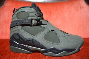 71f28465fd9 WORN 2X Nike Air Jordan 8 Retro 'Take Flight' 305381-305 Sequoia ...
