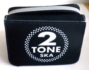 Mod Purse Ska Reggae Two Tone Purse Scooter Purse Wallet Ladies 2 Tone Purse