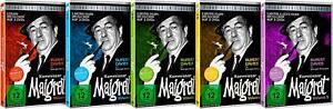 15-DVDs-KOMMISSAR-MAIGRET-VOL-1-5-KOMPLETT-SET-Rupert-Davies-NEU-OVP