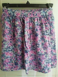 08b356255 Womens Juniors XS Extra Small MOSSIMO SUPPLY CO Pleated Floral Short ...