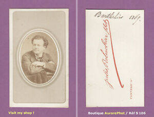 CDV-JEAN-FRANCOIS-BERTHELIER-CHANTEUR-LYRIQUE-OPERA-OPERA-COMIQUE-1870-S106