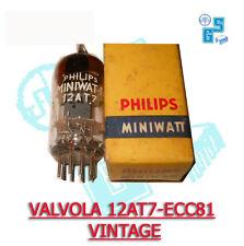 VALVOLA PHILIPS MINIWATT 12AT7-ECC81 -  vintage 1965 - amplificatori valvolari