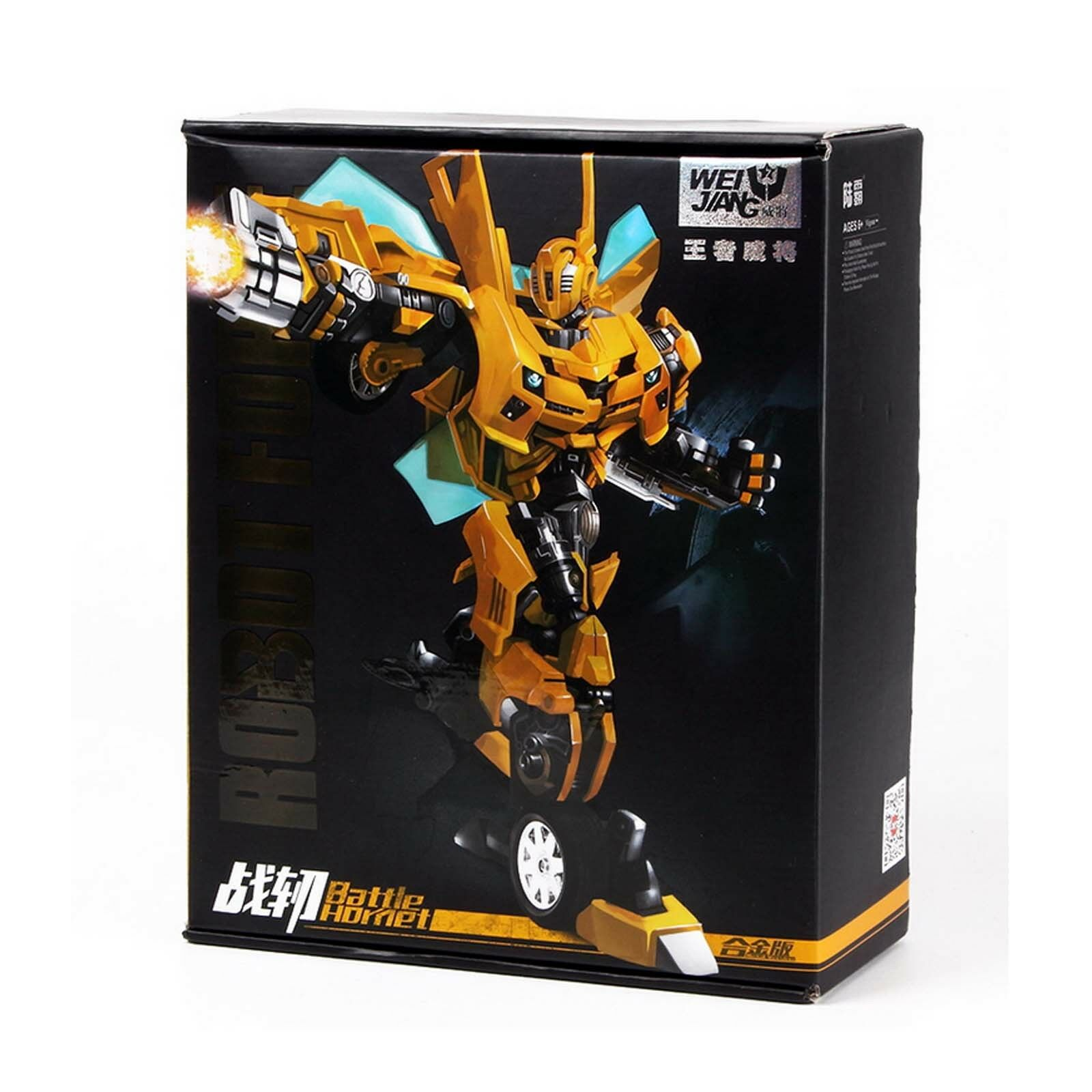 Transformers M03 WEIJIANG WJ Battle Hornet Bumblebee Metal Gift Kids Collection