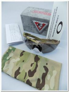 6e0f4d69fb Details about Oakley® SI Protective M Frame 3.0 MULTICAM Tactical Shooting  Glasses - USA - New