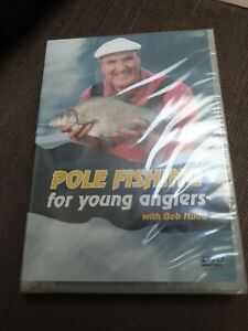 Pole-Fishing-for-Young-Anglers-with-Bob-Nudd-New-DVD-Roach-Bream-Sealed