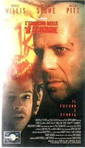 Terry-Gillian-L-039-ESECITO-DELLE-12-SCIMMIE-Con-Bruce-Willis-e-Brad-Pitt-VHS