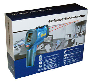 DT-9862-Professional-50-1-IR-Dual-Laser-Video-Thermometer-to-3992-F-2200-C-NEW
