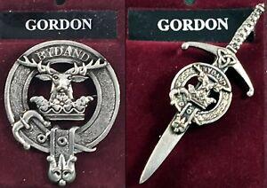 Gordon Scottish Clan Crest Kilt Pin