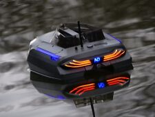 Single Hand RC Bait Boat Bluetooth Remote Control GPS Autopilot With Deluxe Bag