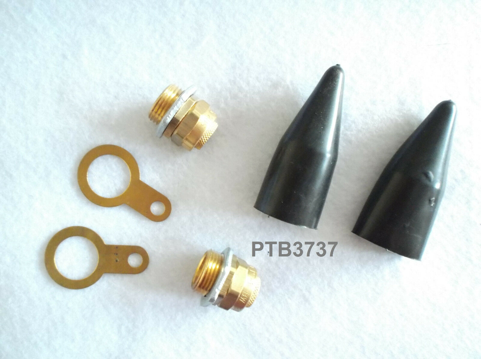 4TRADE PACK OF 2 20mm SWA BRASS GLAND KITS WITH SHROUD EARTH TAG /& LOCKING NUT