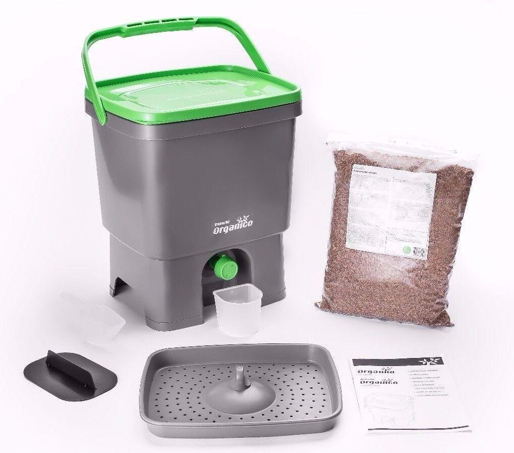 Bokashi Organico Organico Organico con EM terriccio naturale - Biogen  per rifiuti organici 03e948