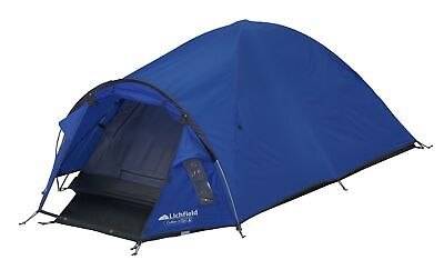 Lichfield Cullen Dome Tent, Atlantic Blue Two Man 5023518803517 | eBay