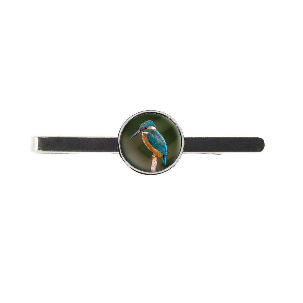 Kingfisher Bird Mens Tie Slide Ideal Birthday Father Day Gift C94