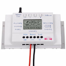 T40 40A MPPT Solar Charge Controller Regulator 12V 24V Auto LCD Display Controll