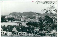 1942 Selangor Club in Kuala Lumpur Original Wirephoto