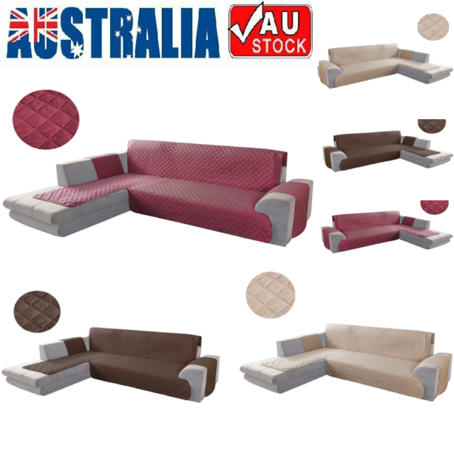 Sofa Covers L Shape Polyester Stretch