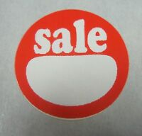 120 Self-adhesive Sale 1 Labels Stickers Retail Store Supplies