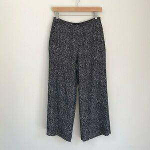 Saba-Womens-Pants-Size-8-Granite-Patterned-Culottes-Spring-Career