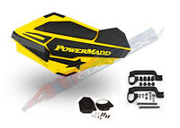 Powermadd Sentinel Handguard Hand Guards Kit Yellow Snow Mobile Snowmobile 34406
