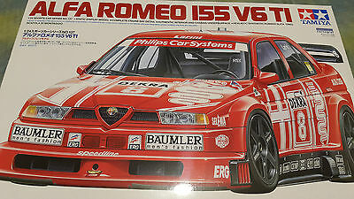 TAMIYA 1:24 KIT AUTO ALFA ROMEO 155 V6 TI  ART 24137