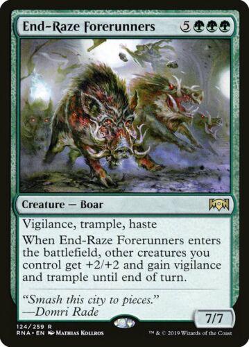 End-Raze Forerunners Ravnica Allegiance**NM** MTG
