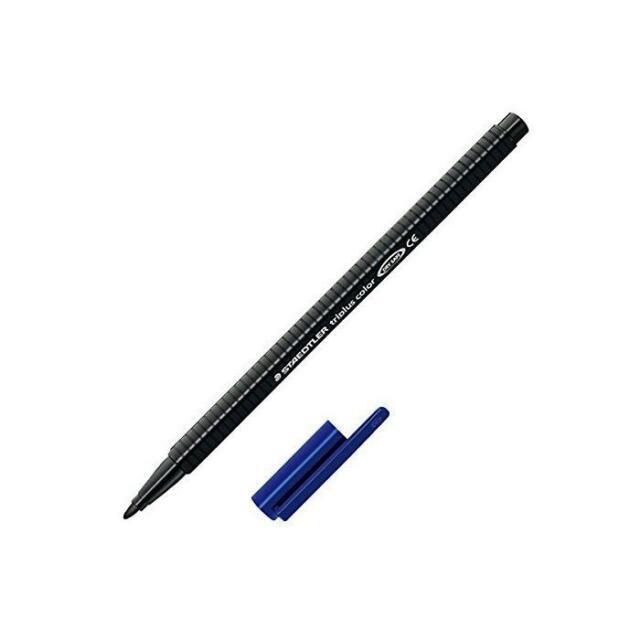 [Ref:323-9] STAEDTLER Feutre de coloriage triplus color Pte large 1 mm Noir