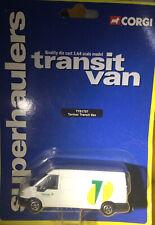 Corgi Superhaulers Transit Van TNT 66202 BNIP diecast model plain sides version
