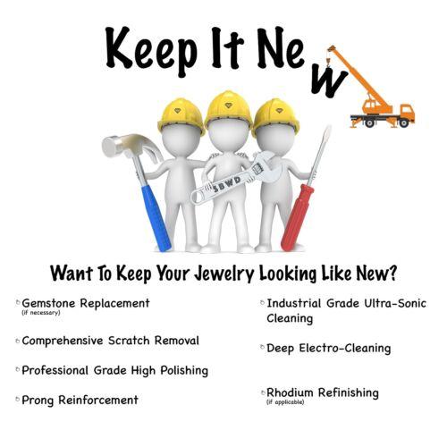 Keep It New Program Jewelry Upkeep Maintenance for ShineBriteWithADiamond