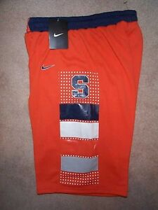 Nike Syracuse Orange Orangemen Ncaa Basketball Jersey Shorts Youth