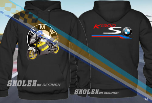 NEW BMW MOTOR K1300S LOGO EDITION HOODIE ALL SIZE
