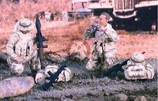 Verlinden 1/35 VP 2395  2 US Soldaten im Irak beim Beutesichten