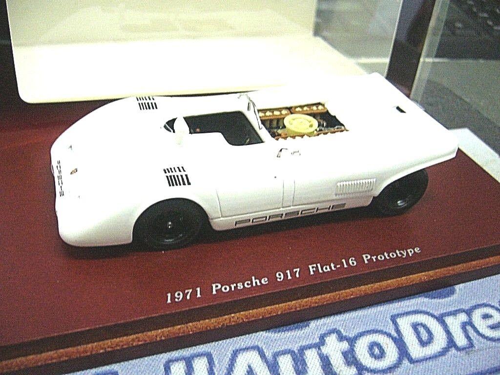 Porsche 917 Flat 16 Cylindre 1971 prougeotype TrueScale haut de gamme Resin 1 43
