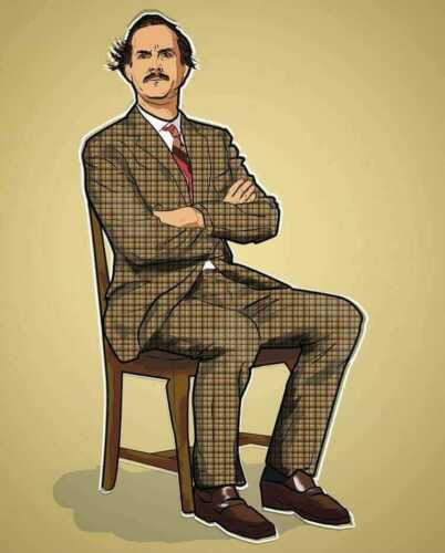Men/'s Ladies T SHIRT king of comedy Fawlty Towers Basil Cleese 70s retro classic